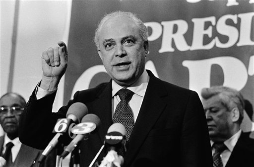 Robert Strauss in 1980. (AP Photo)