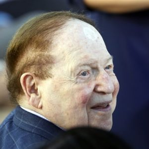 American businessman Sheldon Adelson (AP Photo/Charles Dharapak)