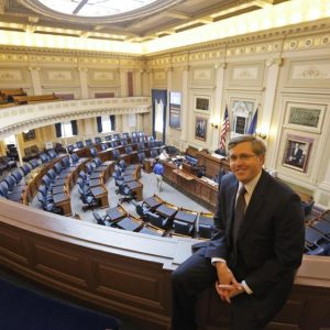 Chris Jankowski the architect of the GOP's gerrymandering effort in Virginia (AP Photo/Steve Helber)