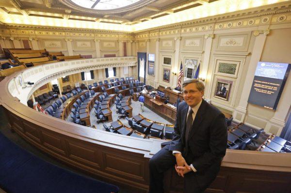 Chris Jankowski the architect of the GOP's gerrymandering effort in Virginia (AP Photo/Steve Helber)