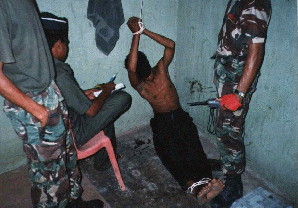 Torture by the CIA in hunt for bin Laden.