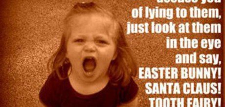 The Easter Bunny and other great lies we tell children
