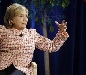 Former Secretary of State Hillary Rodham Clinton (AP Photo/Stephan Savoia)