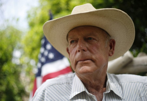 Rancher Cliven Bundy poses at his home in Bunkerville, Nevada.  (REUTERS/Jim Urquhart)