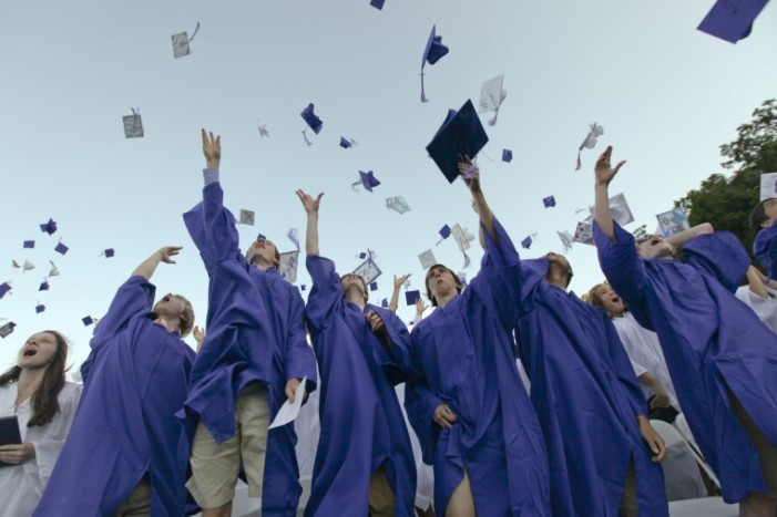 High school graudation rate hits 80 percent