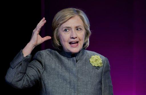 Former Secretary of State Hillary Rodham Clinton   (AP Photo/Manuel Balce Ceneta)