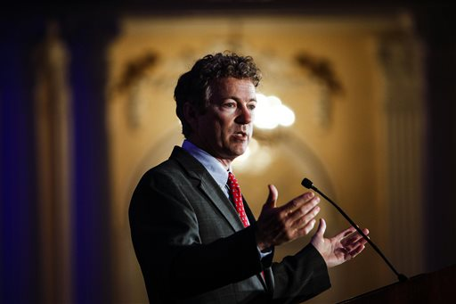 Kentucky Senator Rand Paul (AP Photo/The Commercial Appeal, William DeShazer)
