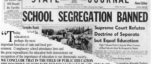 Segregation returning to American schools