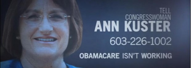 Opponents spend $445 million on ads against Obamacare