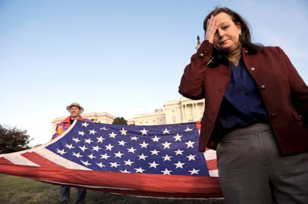 Tea Party Patriots co-founder Jenny Beth Martin wonders whapt happened (AP)