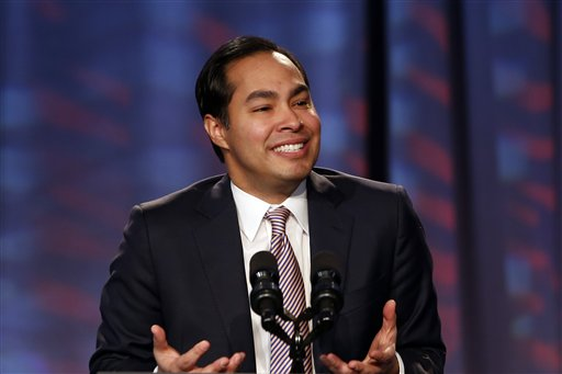 San Antonio Mayor Julian Castro  (AP Photo/Charles Dharapak)