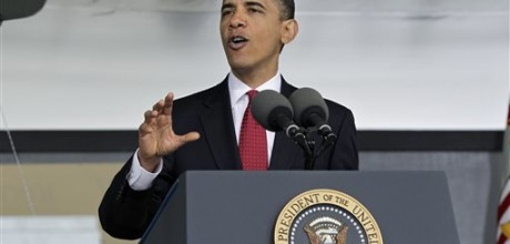 Obama set to propose limited U.S. foreign policy
