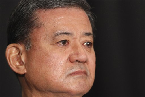 Veterans Affairs Secretary Eric Shinseki.  (AP Photo/Charles Dharapak)