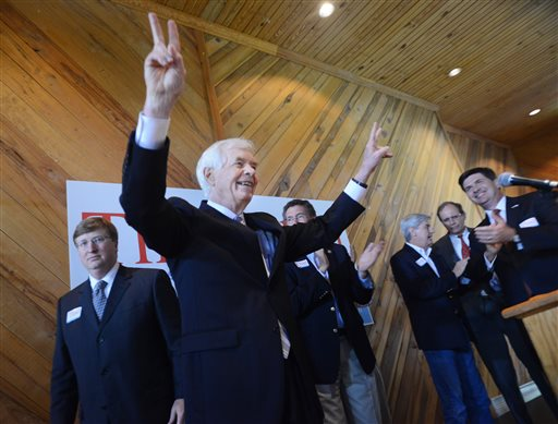 Sen. Thad Cochran, R-Mississippi. (AP Photo/The Clarion-Ledger, Joe Ellis)