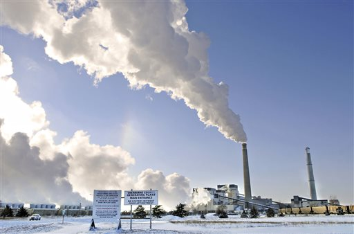 Sherco power plant in Becker, Minn. Minnesota   (AP Photo/St. Cloud Times, Jason Wachter, File)