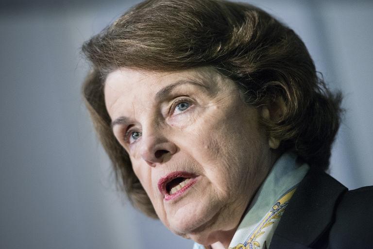 Senator Dianne Feinstein  (AFP Photo/Brendan Smialowski)