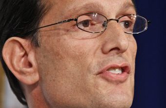 Even Eric Cantor has a tea party primary challenge