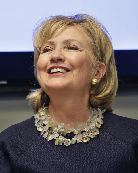 Former First Lady Hillary Clinton (AP Photo/Brennan Linsley)
