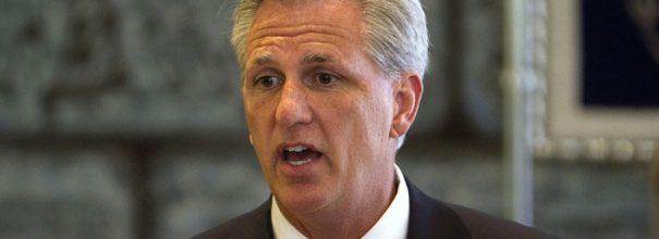 McCarthy front-runner for Cantor's leader job