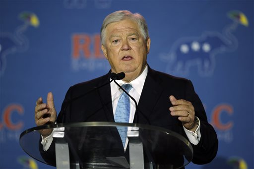 Former Mississippi Governor Haley Barbour  (AP Photo/Bill Haber)