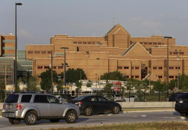 Brooke Army Medical Center in San Antonio.   (AP Photo/David J. Phillip)