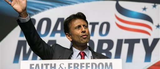Jindal claims 'rebellion' coming against Washington