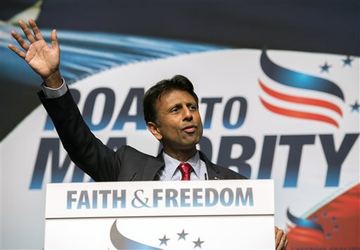 Louisiana Gov. Bobby Jindal  (AP Photo/Molly Riley)