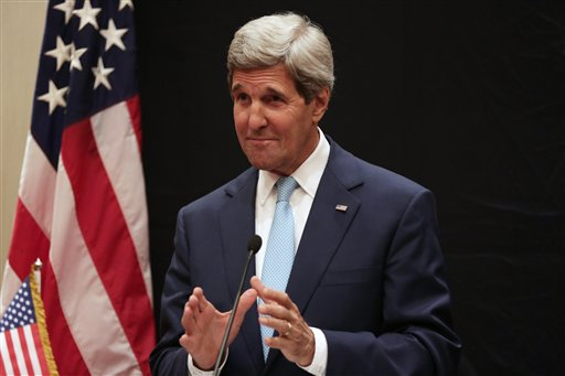 Kerry: Iraq insurgency threatens entire Mideast
