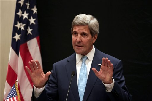 Secretary of State John Kerry   (AP Photo/Maya Alleruzzo)