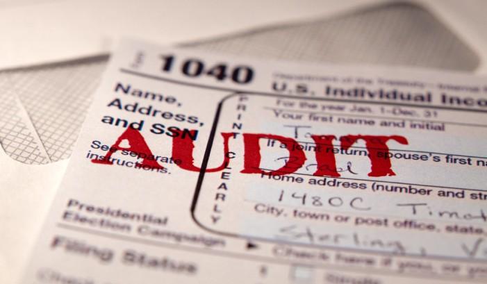 IRS official sought audit of GOP Senator