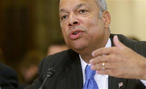 Homeland Security Secretary Jeh Johnson  (AP Photo/Charles Dharapak)