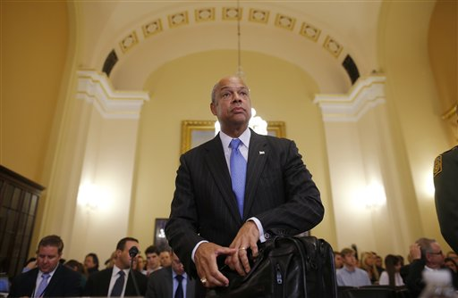 Homeland Security Secretary Jeh Johnson   (AP Photo/Charles Dharapak, File)