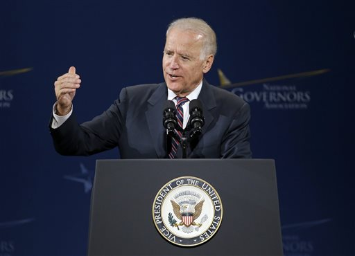 Vice President Joe Biden   (AP Photo/Mark Humphrey)