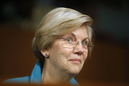 Sen. Elizabeth Warren, D-Mass.  (AP Photo/Charles Dharapak)
