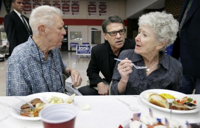 Rick Perry ready for another Presidential run?