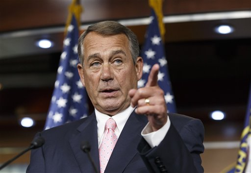 Speaker of the House John Boehner, R-Ohio (AP Photo)