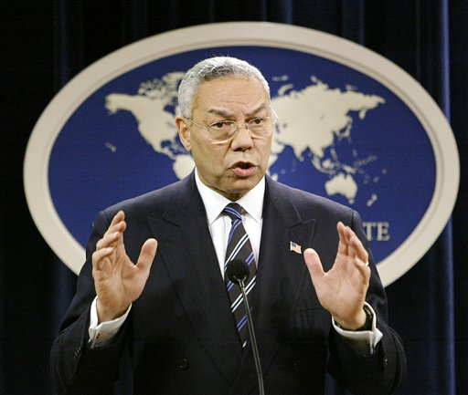 Secretary of State Colin Powell  (AP Photo/J. Scott Applewhite)