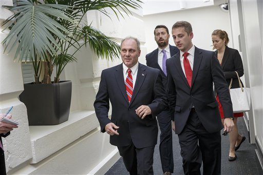 Rep. Steve Scalise, R-La., the new House GOP whip (AP Photo/J. Scott Applewhite)