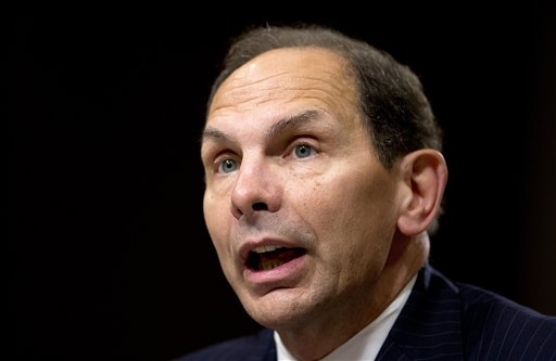 Veterans Affairs Secretary nominee Robert McDonald   (AP Photo)