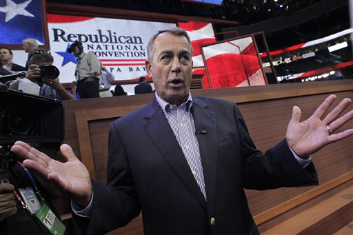 Big bucks Boehner raises millions and millions