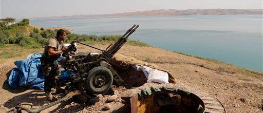 American air strikes aimed at reclaiming Iraq dam