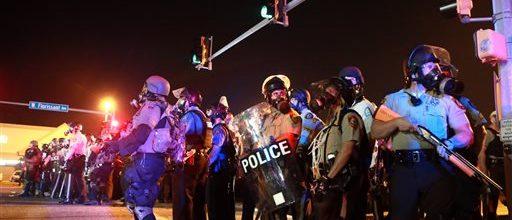 Police, protestors clash again in Ferguson, Missouri