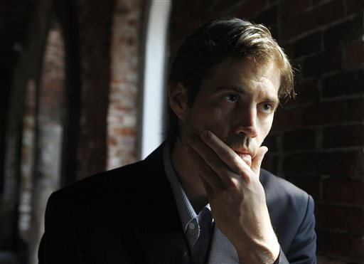 Journalist James Foley  (AP Photo/Steven Senne)