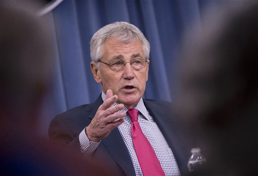Defense Secretary Chuck Hagel  (AP Photo/Pablo Martinez Monsivais)