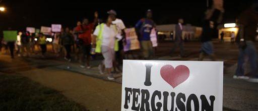 Another quiet night in Ferguson, Missouri