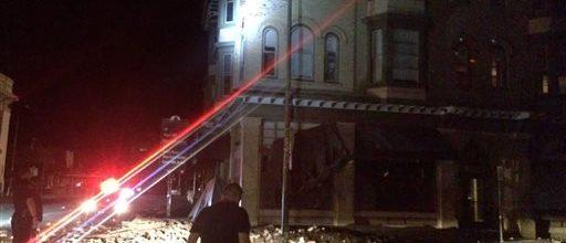 6.0 earthquake rattles California's Bay area