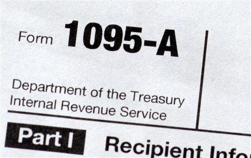 Health Overhaul Tax Forms