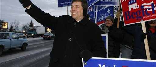 Begich's ad screwup threatens campaign