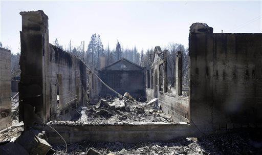 California fire threatens more than 2,000 homes