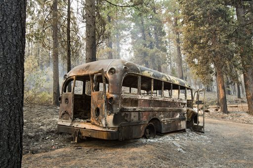 Expanding wildfire threatens more of California